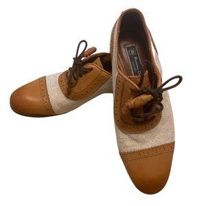 MASSIMO DUTTI | Oxford Wingtip Women's Shoes